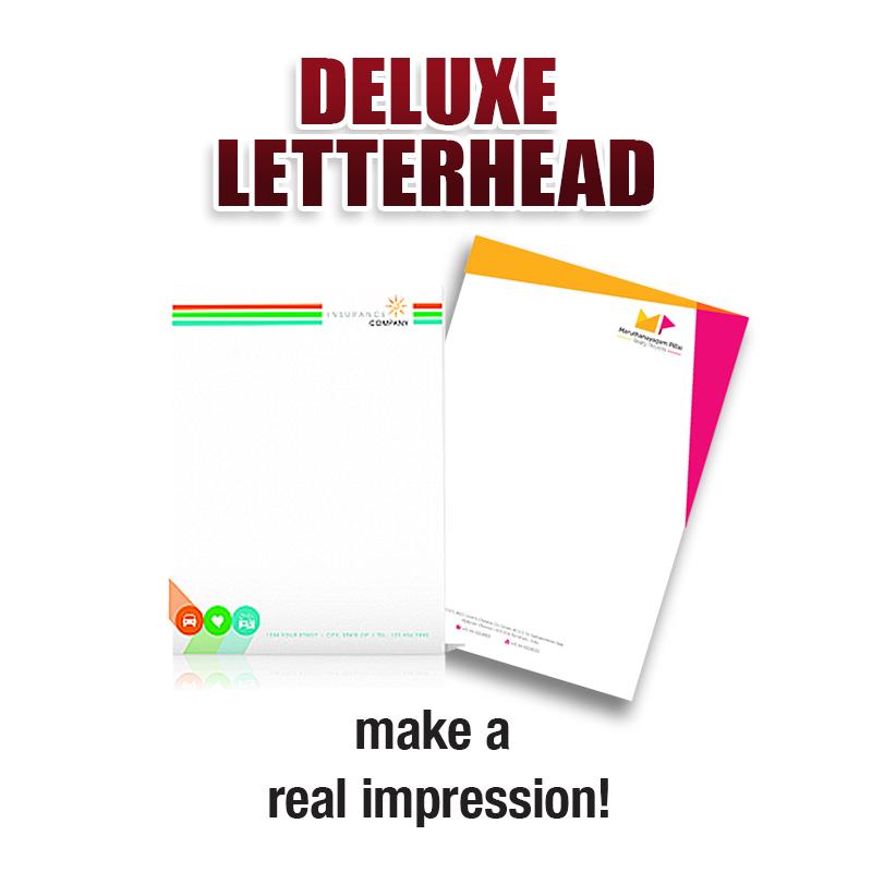 Deluxe Letterhead